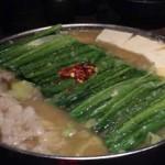 博多もつ鍋のおおやまのモツ鍋