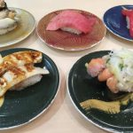 食べたお寿司の数々