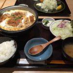 とんかつ和幸の「ロースかつ鍋御飯」