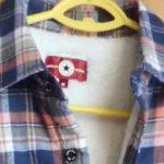 コンバースのフランネルシャツ