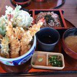 天丼ランチ(かぶき)